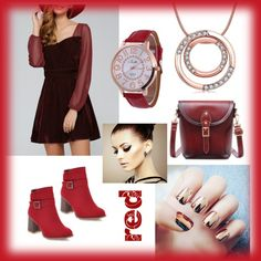 red autumn fall chic from twinkledeals.com