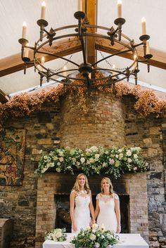 Barberstown Castle Wedding by Give Us A Goo Lisa & Emma 37 Wedding Themes, Wedding Colors, Wedding Venues, Intimate Weddings, Green Wedding, Ireland, Destination Wedding, Lisa, Castle