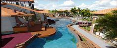 Area social y piscina proyecto a realizarse en la ciudad de Choluteca, Honduras.  Arq.  Hector Larios