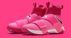 """Think Pink"" LeBron Soldier 10"