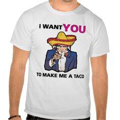 I want YOU to make me a taco!