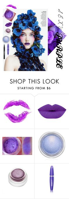 """purple"" by alya-ha ❤ liked on Polyvore featuring beauty, Manic Panic NYC, MAC Cosmetics, rms beauty, Max Factor, Trish McEvoy and brighteyes"