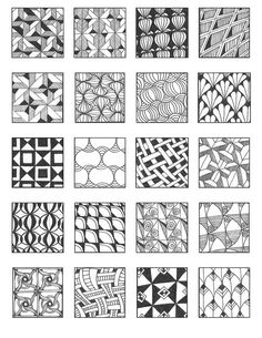 grid 9 | Flickr - Photo Sharing! – Emily Perkins Zentangle: