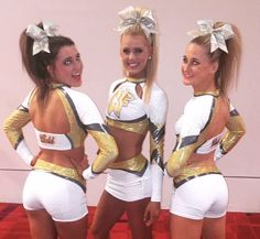 New uniforms for Louisiana Cheer Force GOLD SMCOED5