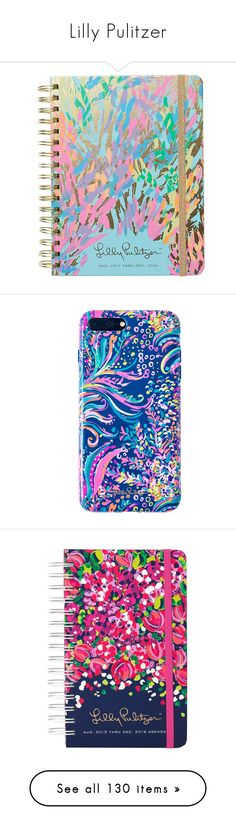"""""""Lilly Pulitzer"""" by zoejm ❤ liked on Polyvore featuring home, home decor, stationery, accessories, tech accessories, phones, phone cases, lilly pulitzer, desk and school supplies"""