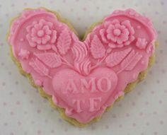 Te Amo Sugar Cookies