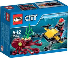 LEGO City Diepzee Duik Scooter - 60090