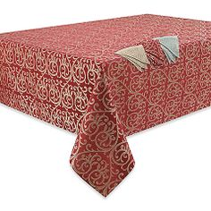 Waterford Anya Tablecloth and Napkin