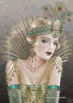 Aurelia ~ by Maxine Gadd. I so love this. Wanted to put it on multiple boards.