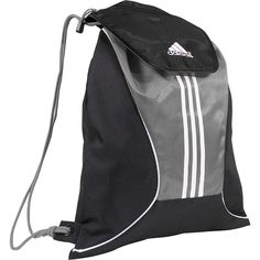 adidas Metro Sackpack (12 AUD) ❤ liked on Polyvore featuring bags b9782e4692bdf