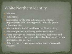 (1820-1860) White Northern Identity in Antebellum America
