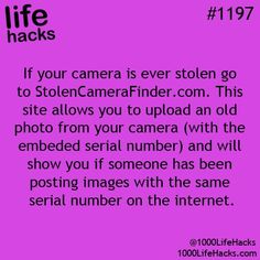 1000 Life Hacks - Thank god I found this, two years ago when I went to Europe our camera with all our pictures was stolen, Hope this works !
