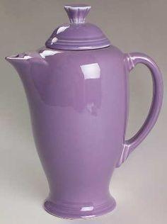 :D❤️Fiesta Ware Lilac Coffee Server Mint Purple Love, All Things Purple, Purple Rain, Shades Of Purple, Purple Glass, Purple Swag, Purple Stuff, Lilac Color, Periwinkle Blue
