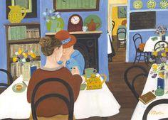 Dee Nickerson. The Tea Room