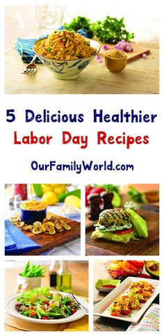 Easy & healthier Labor Day recipes that everyone will love? You betcha! Check out five that we love!
