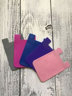 Pack of 5 Smartphone Credit Card Holders