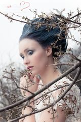 #Winter. #Portrait & #Beauty #Photoshoots in #Hamburg, #Germany. #Photo: Phodo-Passion #Photography