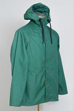 7ba33a238a86 70s REI CO-OP Parka Green Hooded Mountaineering Goretex Shell Anokrak Jacket