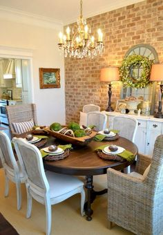 Lasting french country dining room furniture & decor ideas (49)