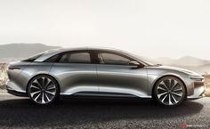 Lucid Motors 'Air' Electric Car Unveiled