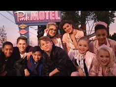 MattyBRaps original Turn Up The Track! With the crew members Dance Moms!