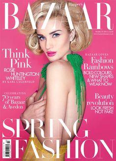Harper's Bazaar's UK March 2014