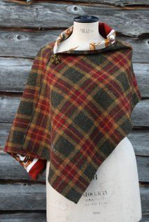 Harriet Hoot Besoke Harris Tweed Wrap