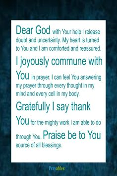 Say Amen! Get more prayers, blessings, inspirational quotes at http://prayables.org/sign-get-blessed-ings/
