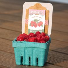 Berry Basket with BARC Wood label https://etcpapers.com/2015/07/13/berry-basket-barc-wood-label/