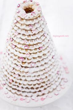 Kransekake - Norwegian Christmas Cake: Can't find recipe in English - its sooo good