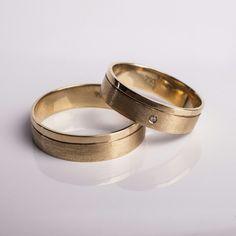 Wedding Ring em Ouro 18k e Diamante