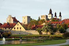Visby, Götland. A swedish medieval city with gates...and our Mans...