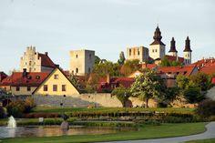 Visby, Götland. A swedish medieval city. With gates !