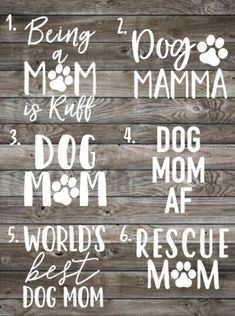 Fur Mama Decal | Dog Mom | Car Decal | Vinyl Decal | Laptop Decal | Window Sticker | Dog Mom Gift | Rescue Mom | Dog Mom AF by LolaLuVinylDesigns on Etsy