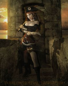 Model: Maggie Raven from the 2011 Hot Pirate Babe Calendar by Tiger Lee