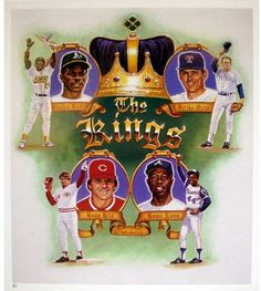 Kings of Baseball Poster