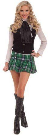 Mini Kilt - Woman's mini skirt kilt with elastic waistband. One size fits up to a 14/16.