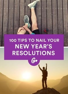 100 Tips for Making Your Resolutions a Reality! #motivation #weightlossbeforeandafter