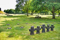 Cementerio de la Cambe, Normandia