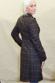 3222fd87 Barbour Darwen Ladies Long Tailored Tweed coat LTA0098OL92. Barbour Darwen  Ladies Long Tailored Tweed coat LTA0098OL92 from Smyths Country Sports