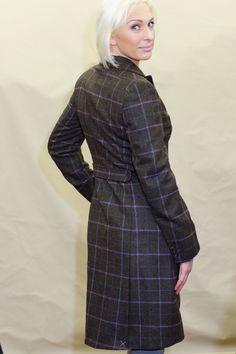 fefeb613fd772 Barbour Darwen Ladies Long Tailored Tweed coat LTA0098OL92 from Smyths  Country Sports Tweed Coat