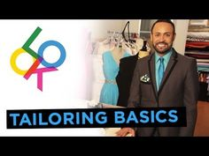 ▶ The Basics of Tailoring: Design School with Nick Verreos - YouTube