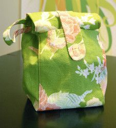Stylish Lunch Sack   AllFreeSewing.com