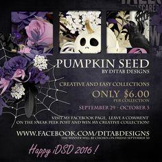 DitaB Designs: iDSD collections Pumpkin Seed by DitaB Designs c. Art Quotes, Seeds, Pumpkin, Collections, Creative, Design, Pumpkins, Squash