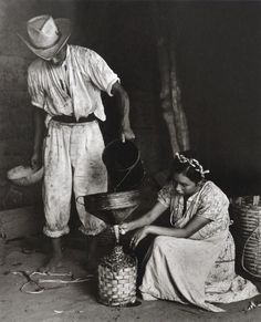 Garrafa de mescal, Minas, Oaxaca, México, 1960Photo by Rodrigo... (via Bloglovin.com )