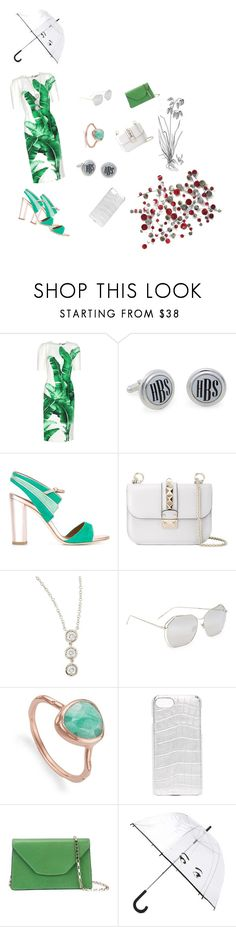 """Plant Style..**"" by yagna ❤ liked on Polyvore featuring Dolce&Gabbana, Brooks Brothers, Malone Souliers, Valentino, Fantasia by DeSerio, Linda Farrow, Monica Vinader, Valenz Handmade, Valextra and Kate Spade"