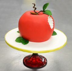 Sculpted Snow White Apple Cake by Beverly's Bakery