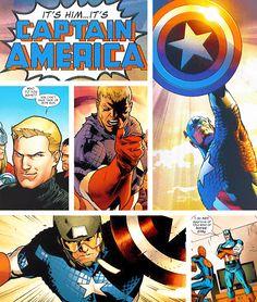 It's Him...It's Captain America!