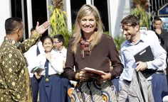 Koningin Máxima valt in voor prinses Beatrix