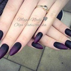 #ombrenails #nailart #nailporn #nails #nailpolish #nailswag #nailstylist #nails2inspire #lovenails #blacknails #rednails #plumnails #fashion #stylish #scarynails #longnails #stiletto #tattoo #gothnail #gelnails #spnnails #paznokciezelowe #mani #manicure #jewellery #mattnails #paznokciehybrydowe #uñasdecoradas #unas #darknails